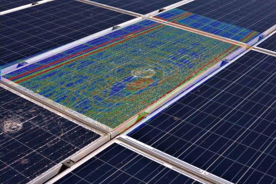 termografia su fotovoltaico